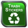 Trash Stickers Logo